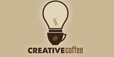a picture of creative coffee logo