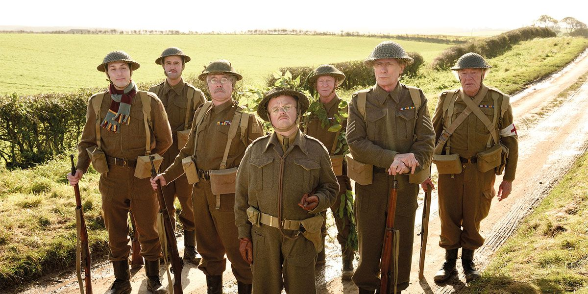 Dad's Army stars Toby Jones, Bill Nighy and Michael Gambon