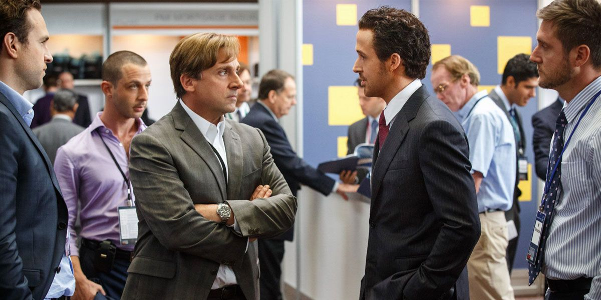 The Big Short stars Ryan Gosling and Steve Carell