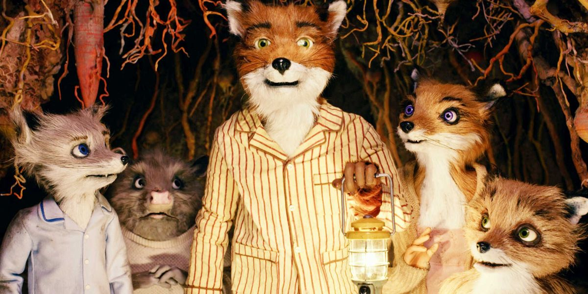 Fantastic Mr Fox from Wes Anderson