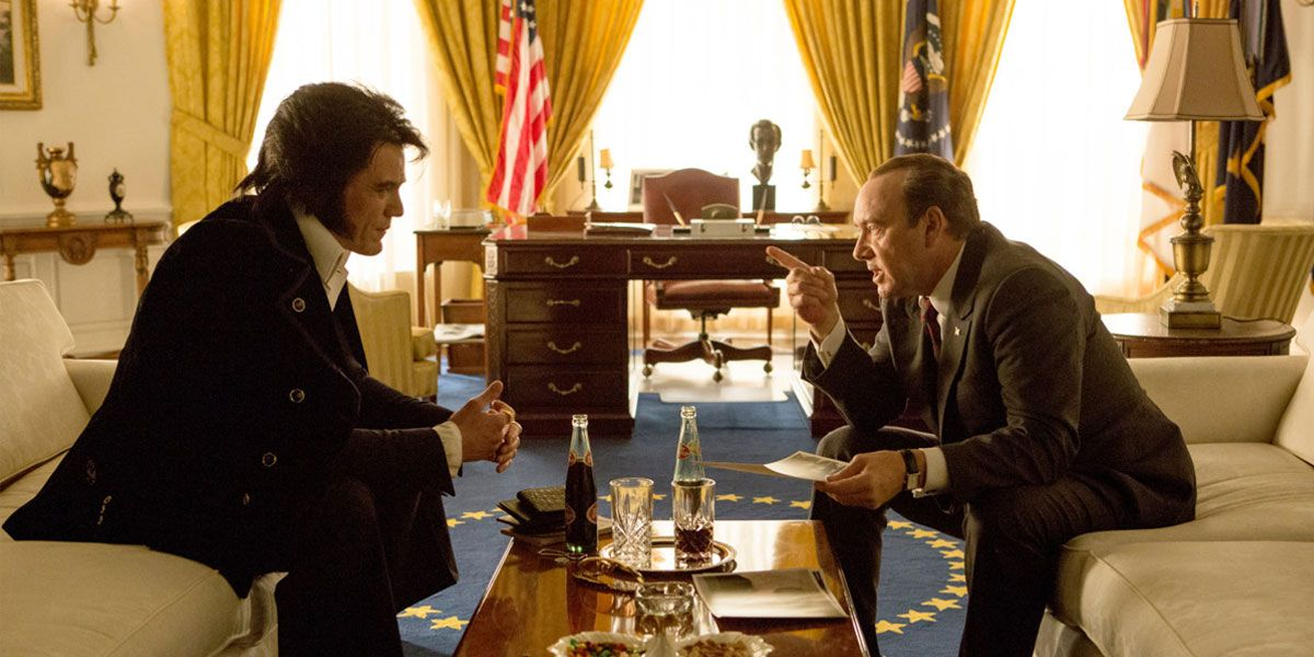 Michael Shannon and Kevin Spacey star in Elvis and Nixon