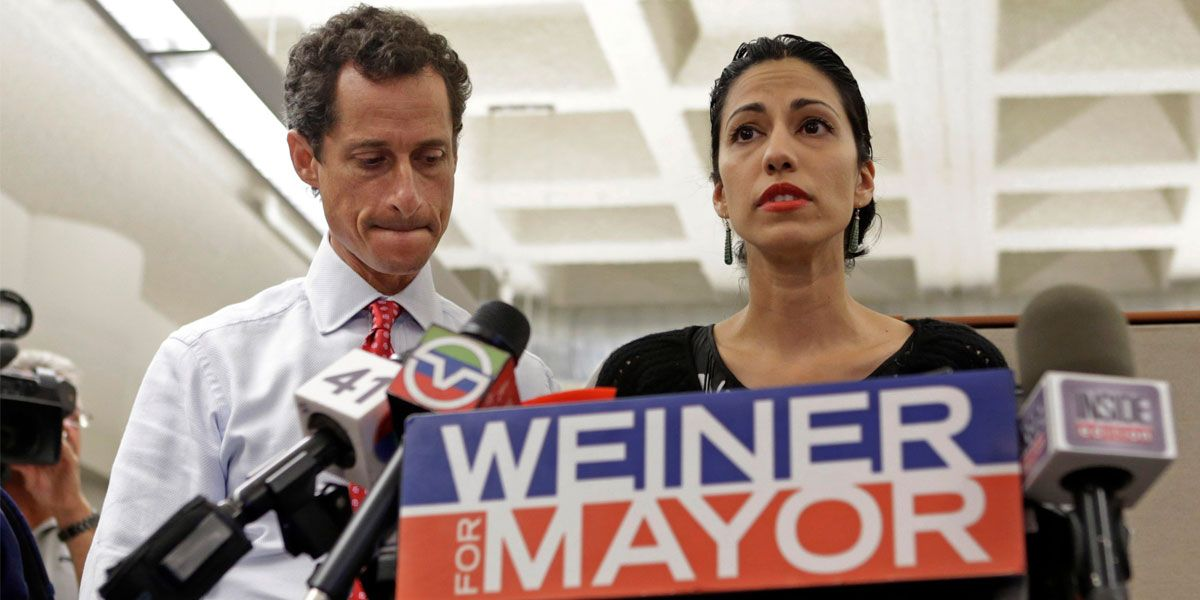 This documentary follows disgraced former Congressman Anthony Weiner.
