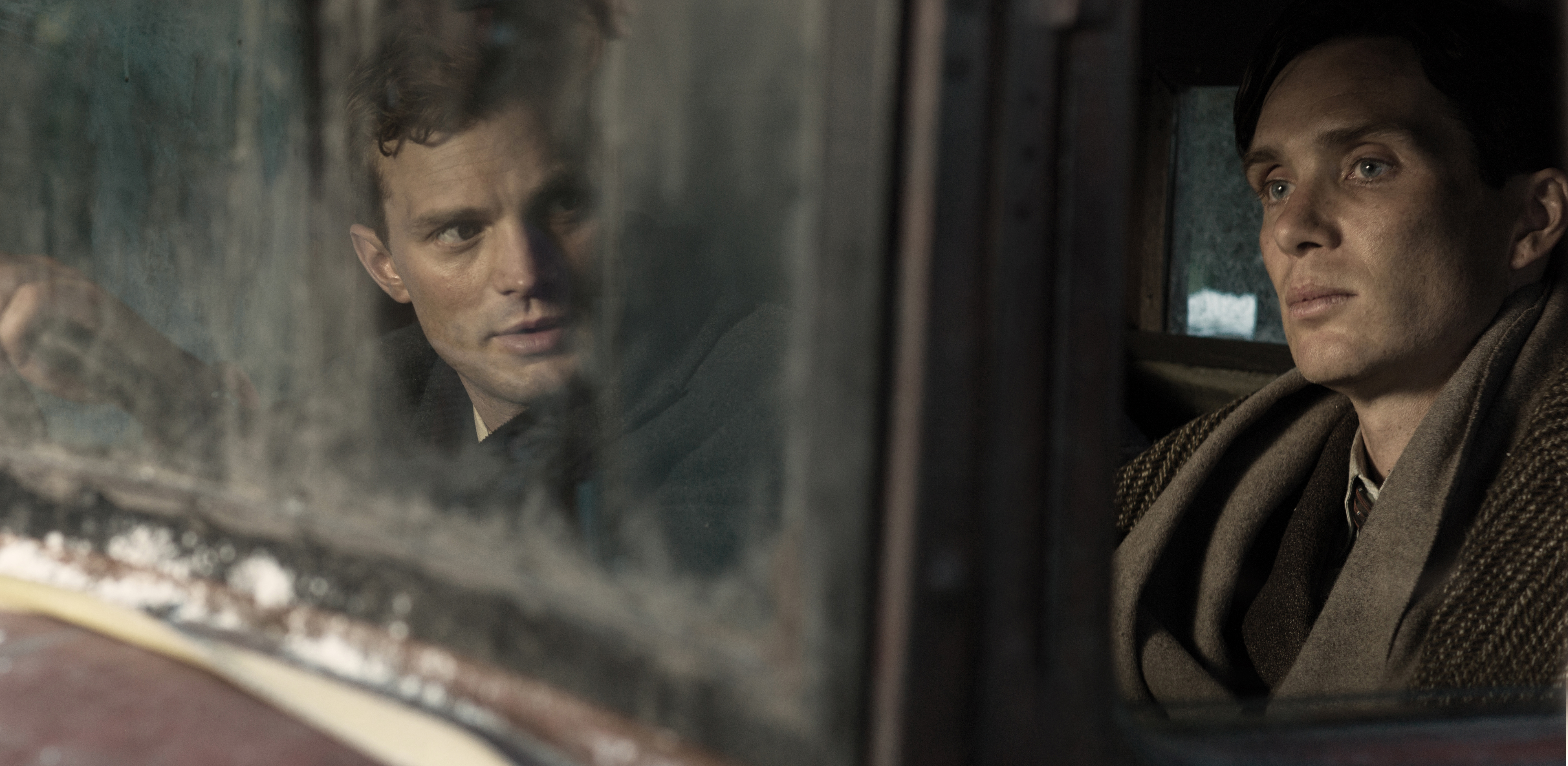 Anthropoid stars Cillian Murphy and Jamie Dornan