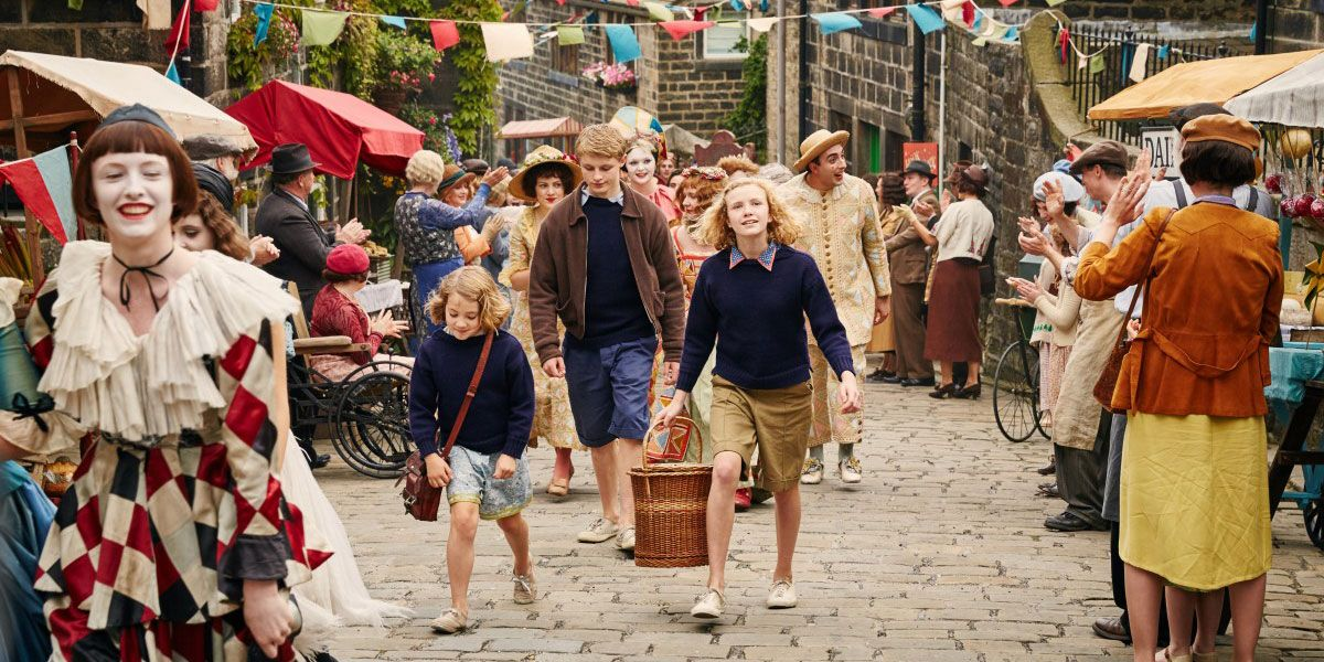 A picture illustrating the film Swallows and Amazons
