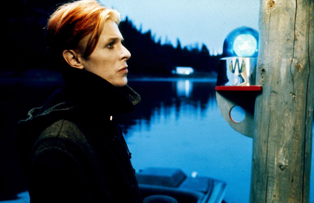 David Bowie in Nicolas Roeg's  THE MAN WHO FELL TO EARTH