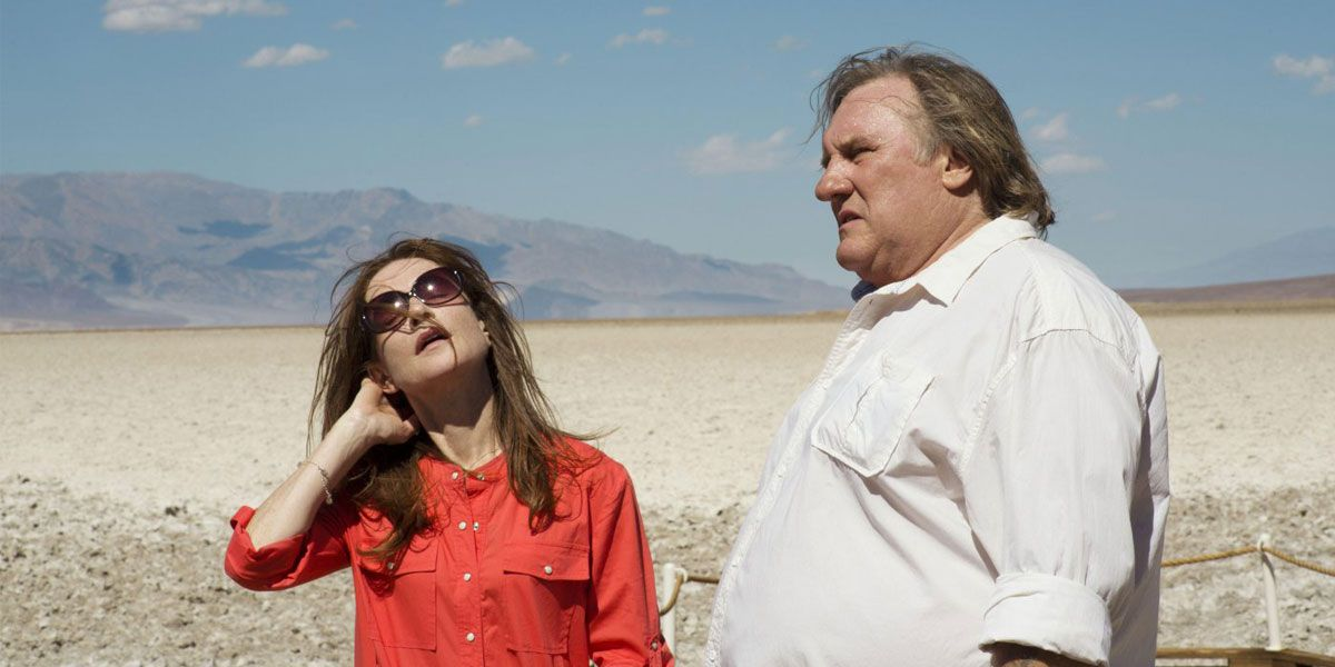 Isabelle Huppert and Gérard Depardieu star in Valley of Love