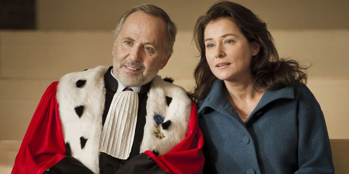 Fabrice Luchini and Sidse Babett Knudsen star in Courted.