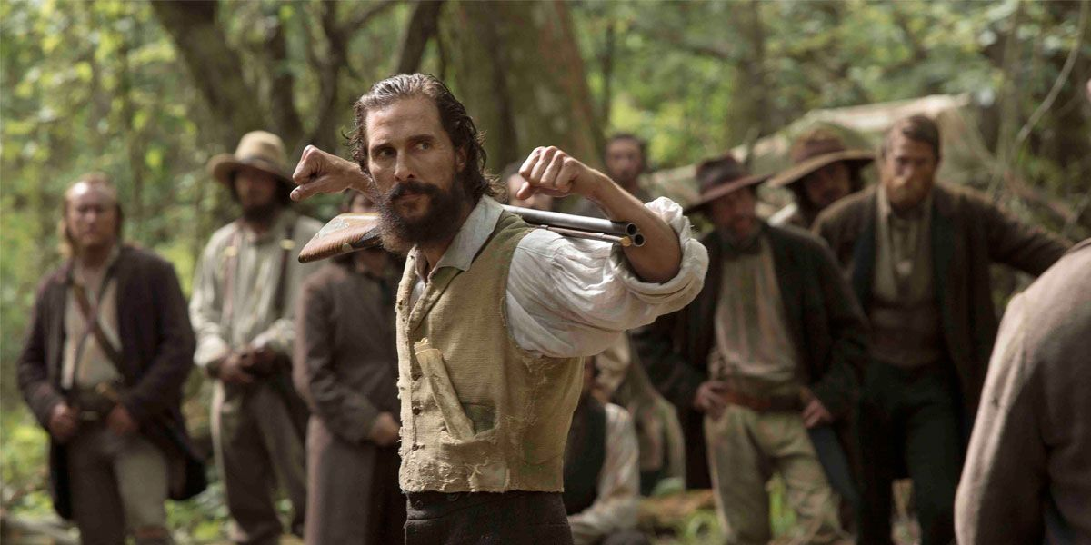 Matthew McConaughey leads and uprising and stars in Free State of Jones