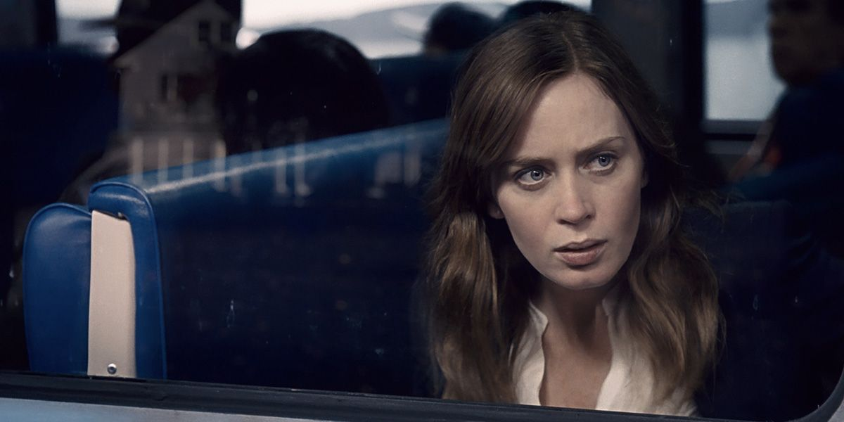Emily Blunt stars in The Girl on the Train