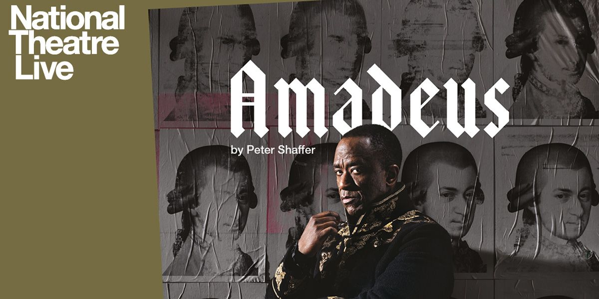 Lucian Msamati plays Salieri in the National Theatre production of Amadeus