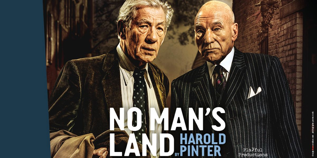 Ian McKellen and Patrick Stewart star in No Man's Land