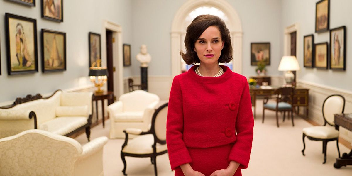 Natalie Portman plays Jackie Kennedy