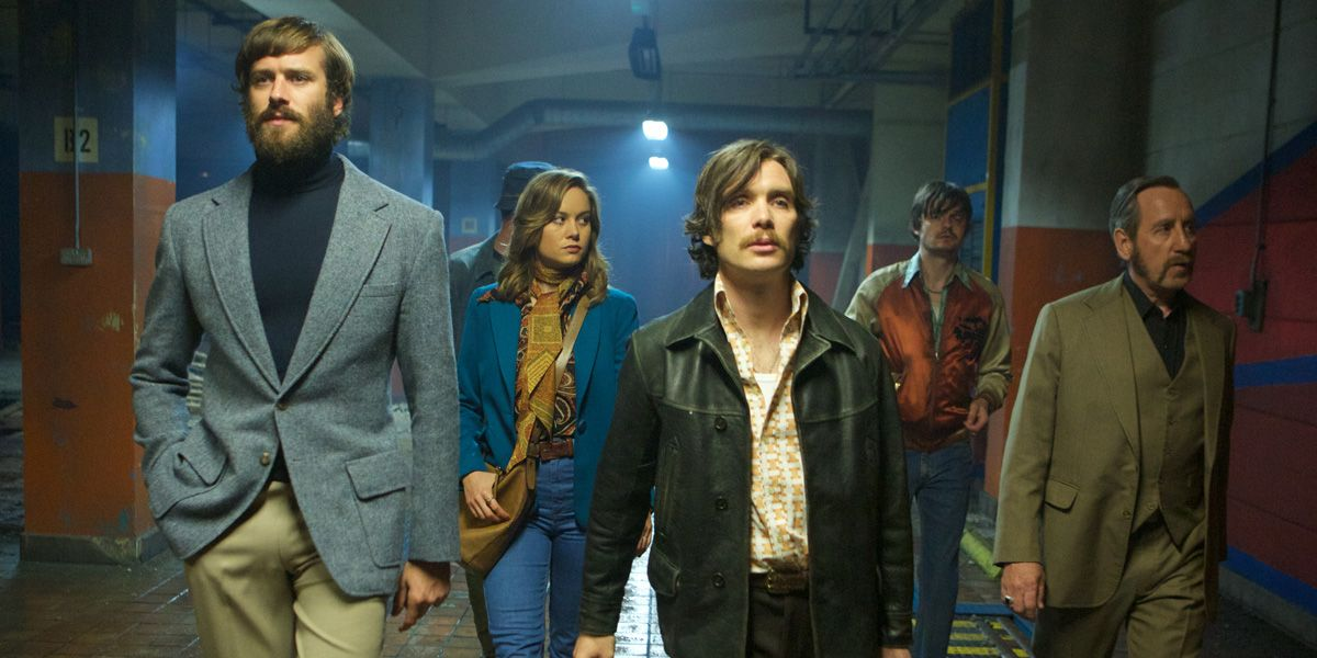 The gun runners assemble for the deal in Free Fire