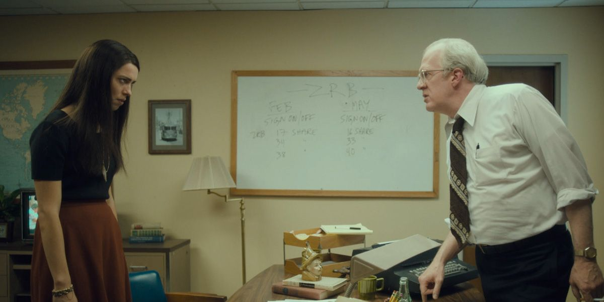 Rebecca Hall and Tracy Letts in Chrsitine