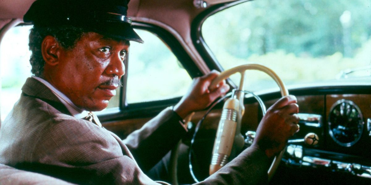 Morgan Freeman in Driving Miss Daisy
