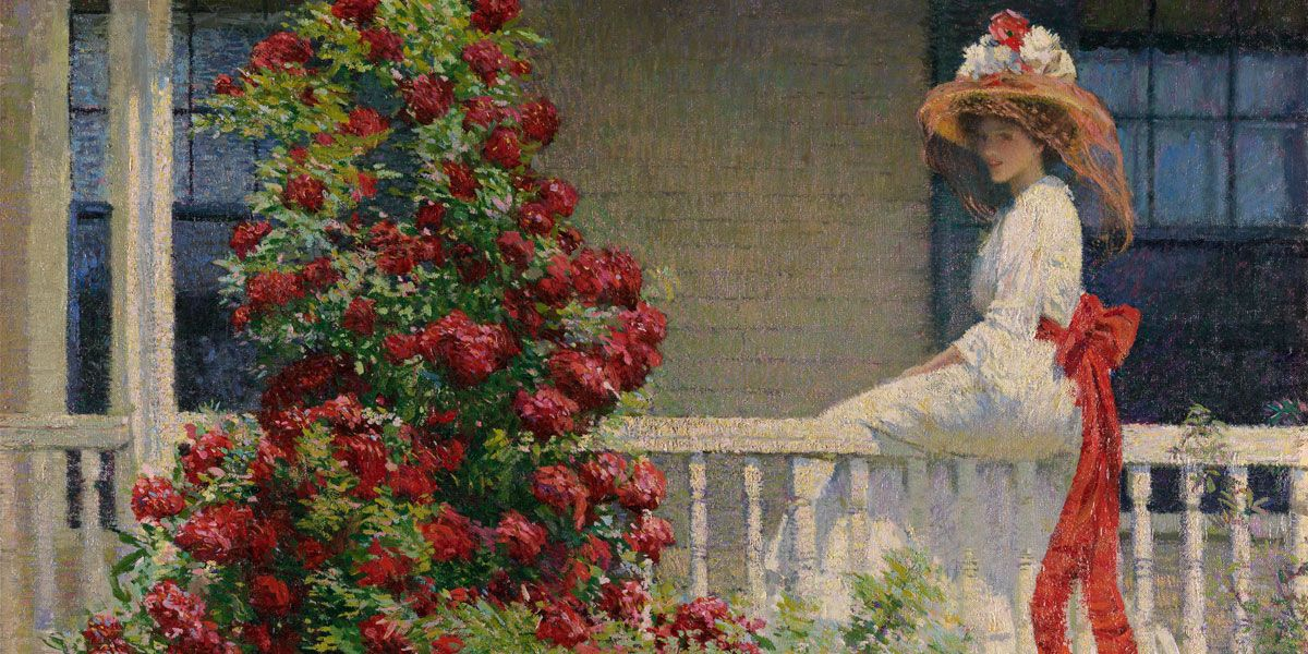 A painting from Exhibition on Screen: THE ARTIST'S GARDEN: AMERICAN IMPRESSIONISM