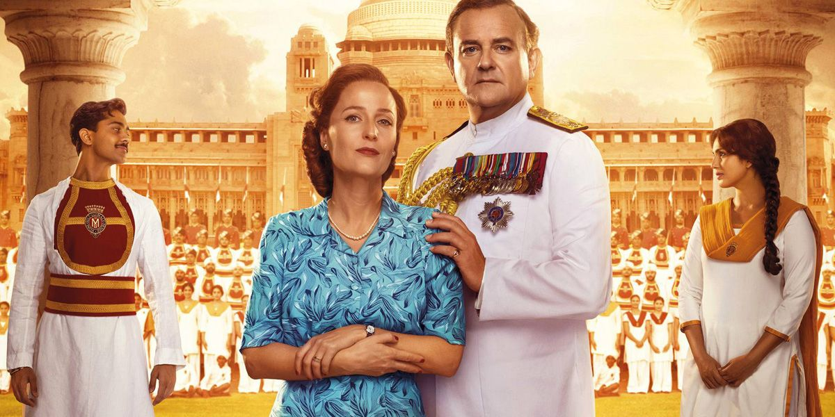 Hugh Bonneville and Gillian Anderson star in Viceroy's House