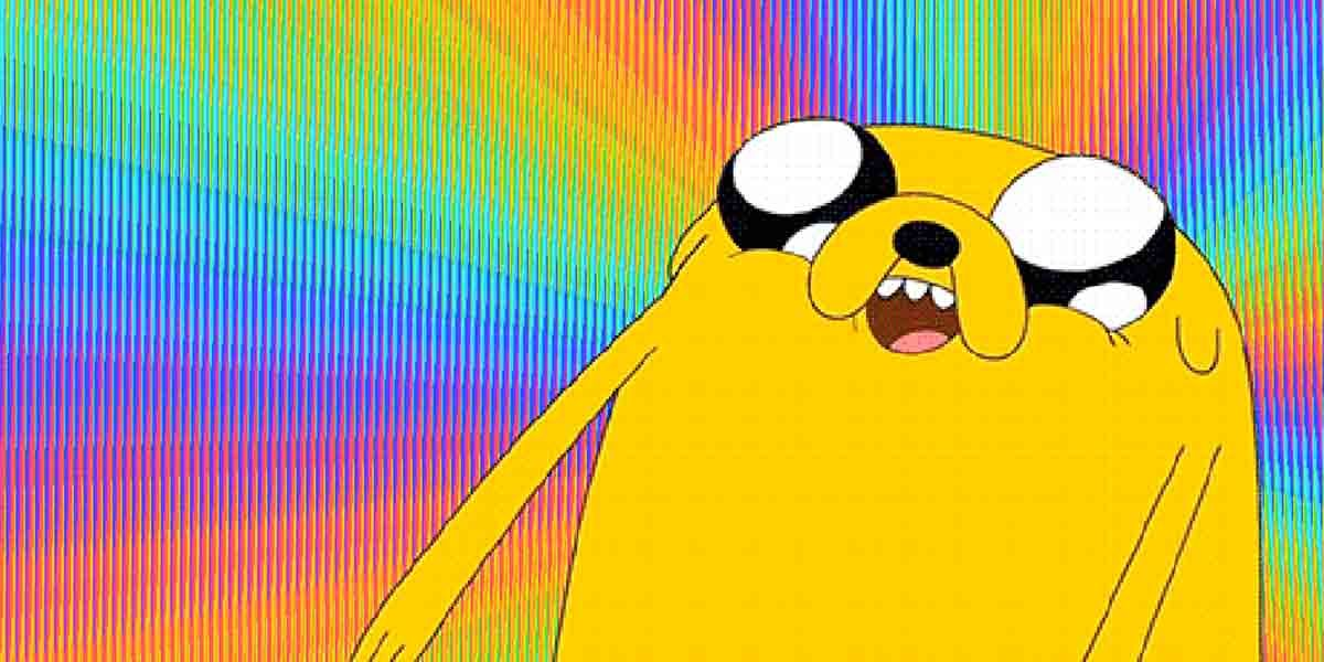 Real Life Gifs - adventure time