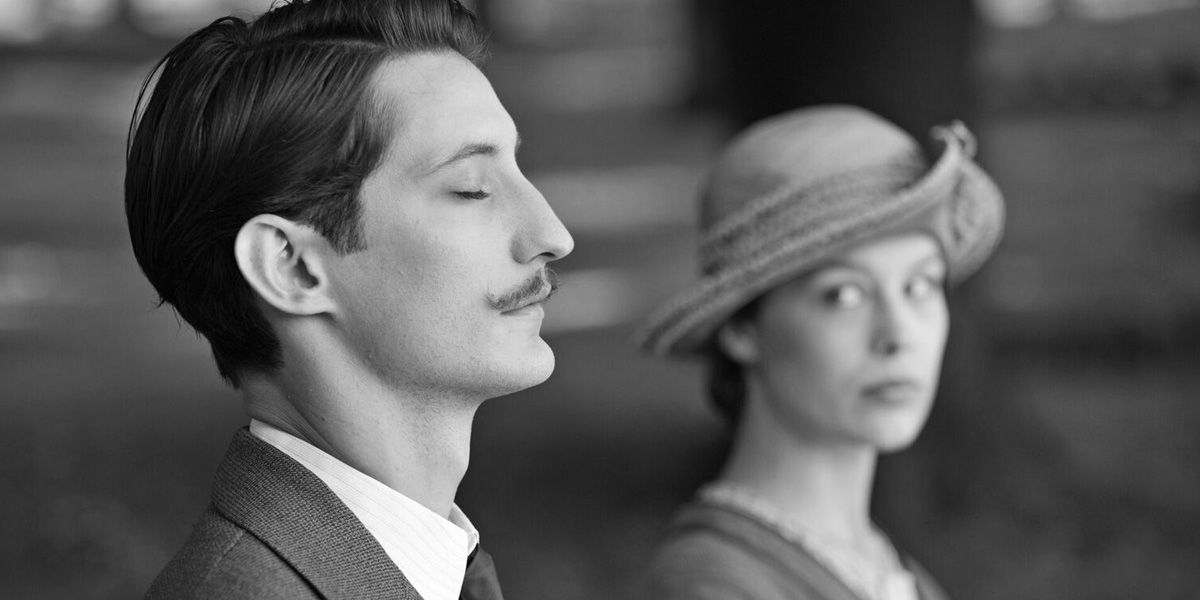Pierre Niney and Paula Beer in Frantz