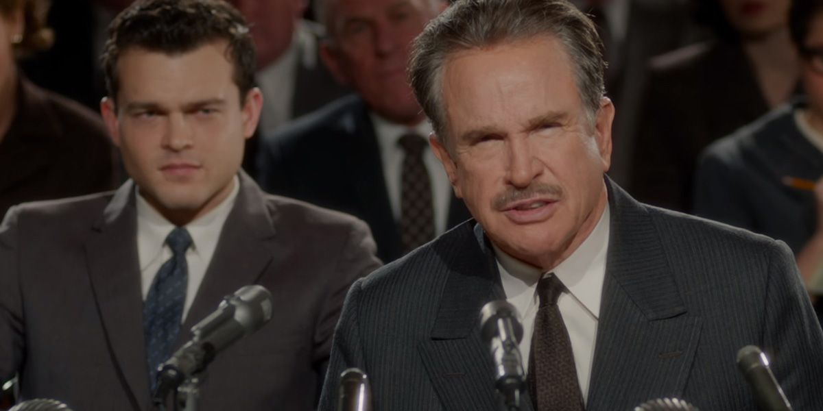 Warren Beatty in Rules Don't Apply