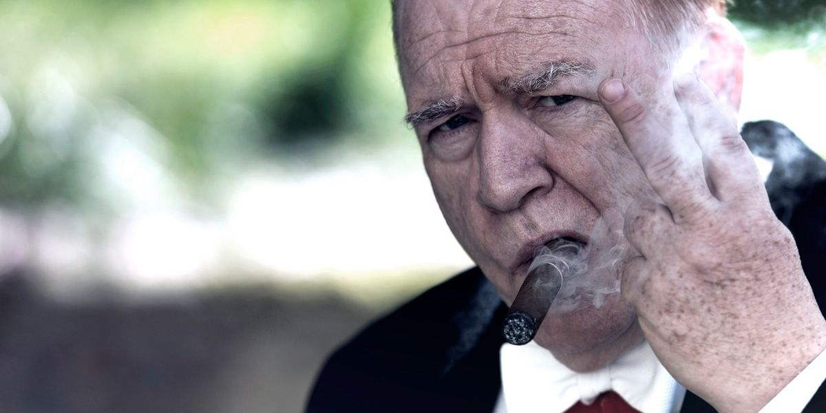 Brian Cox as Churchill