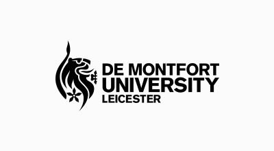 A picture of De Montfort University Leicester logo
