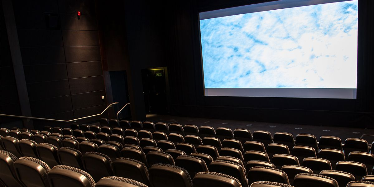 A picture of a cinema auditorium
