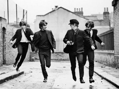 A picture from a hard days night - the Beatles