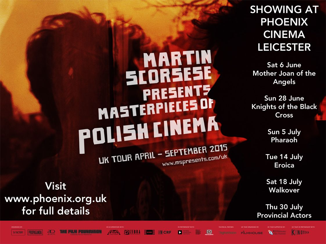 Martin Scorsese presents Masters of Polish Cinema at Phoenix