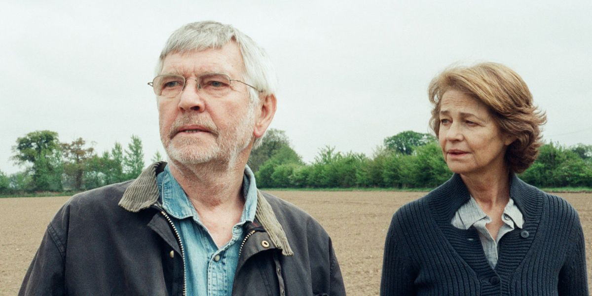 Tom Courteney and Charlotte Rampling in 45 Years