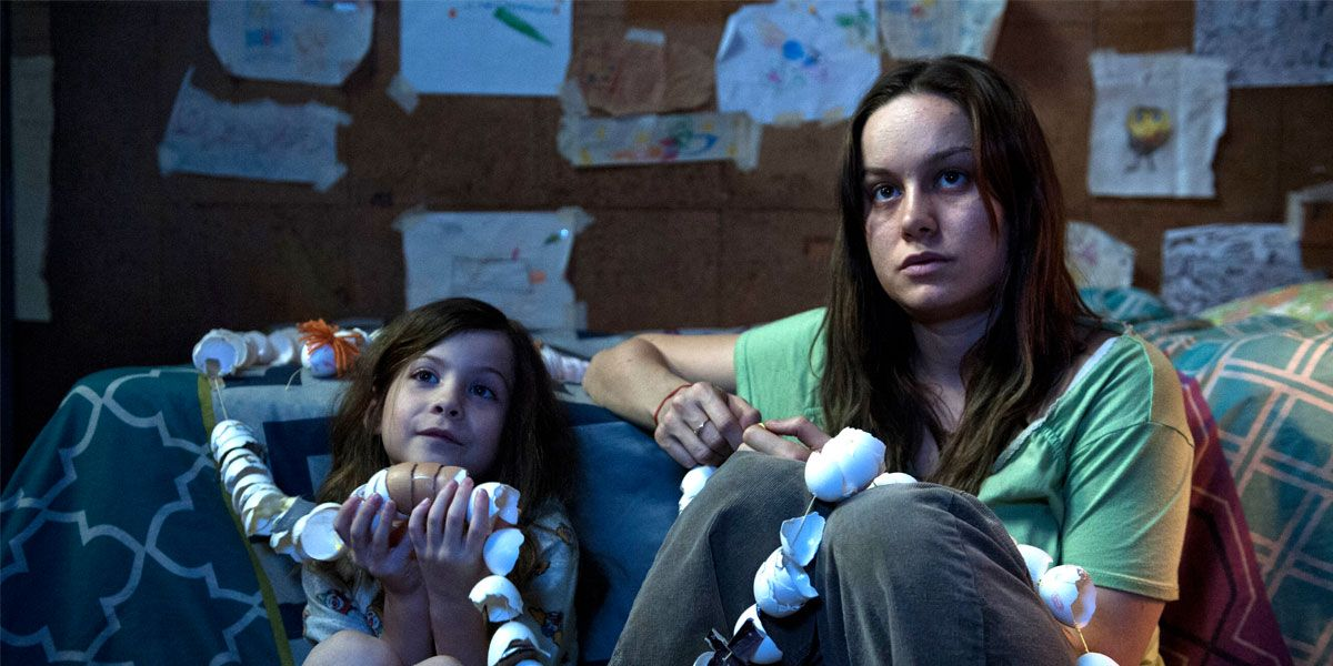 Brie Larson and Jacon Tremblay in Room
