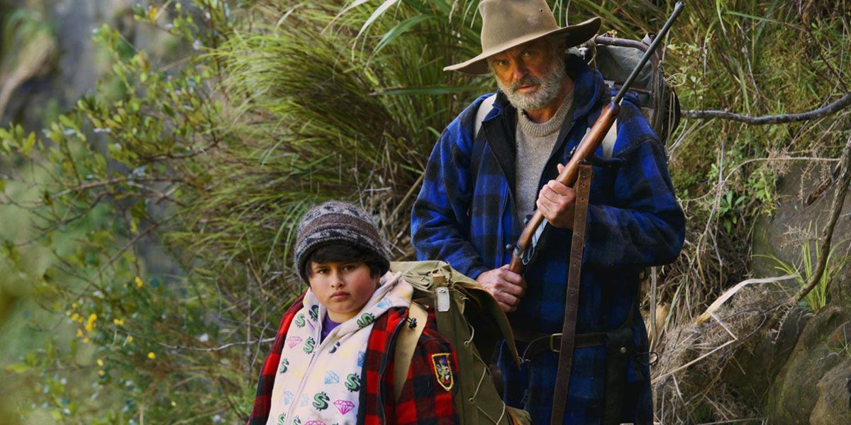 Hunt for the Wilderpeople stars Julian Dennison and Sam Neill