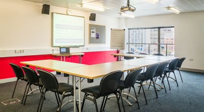 Burton room meeting room hire at Phoenix in Leicester