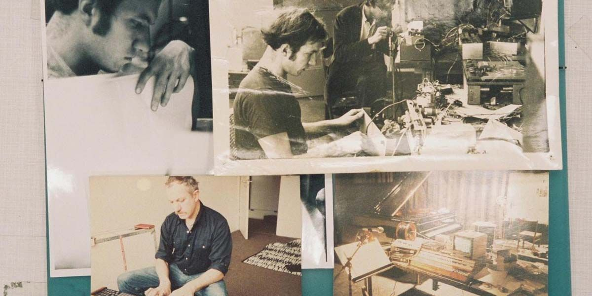 A collage of photographs showing Martin Bartlett at various stages of his life