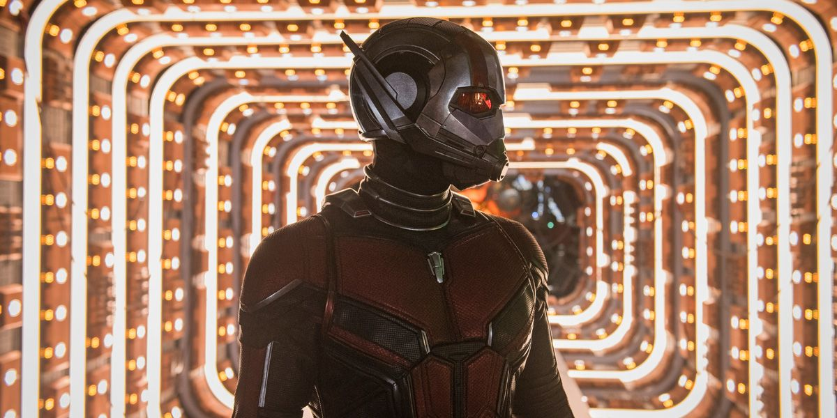 Paul Rudd as Scott Lang in Ant-Man & The Wasp