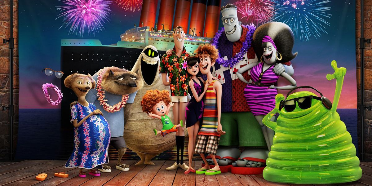 The monster gang are back for another adventure in Hotel Transylvania 3.