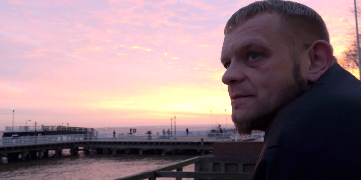 Sun set over Hull in Sean McAllister's A Northern Soul.