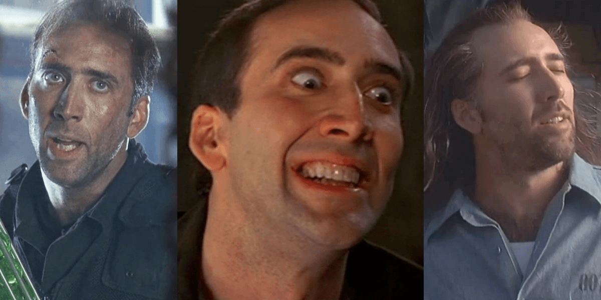 Nicolas Cage x3, what's not to like??