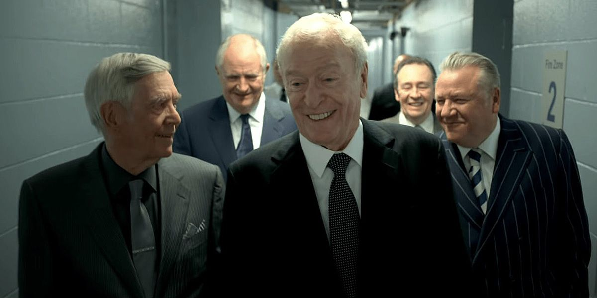 Michael Caine and co. in King of Thieves.