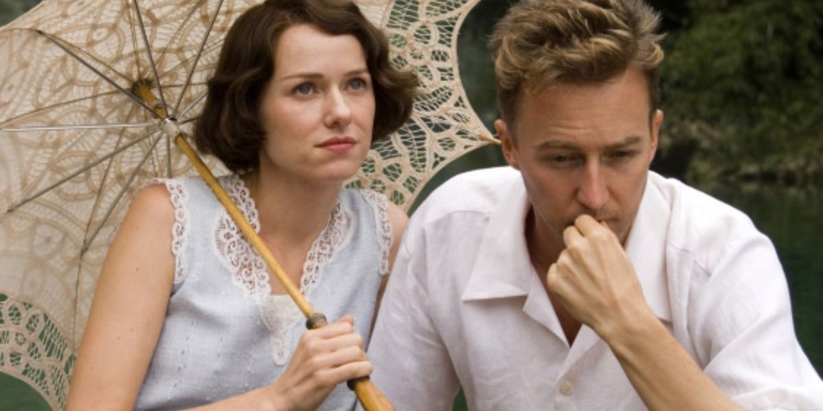 Emily Watson and Edward Norton in The Painted Veil.