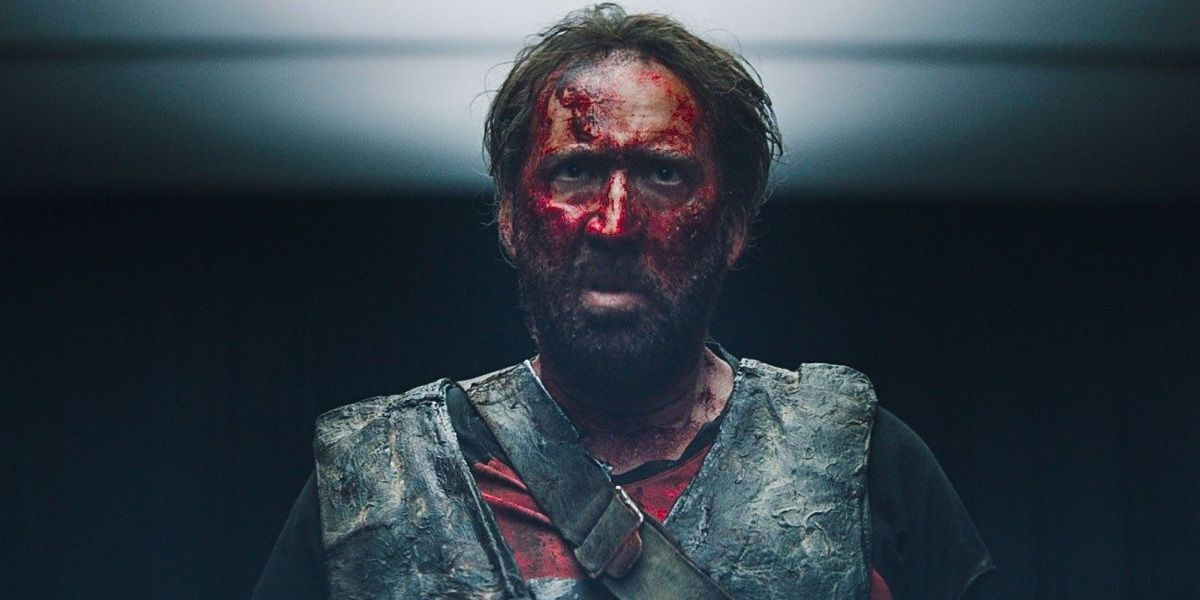 Nic Cage in Mandy.