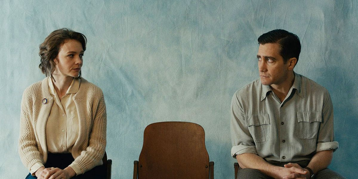 Carey Mulligan and Jake Gyllenhaal in Wildlife.