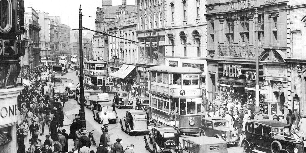 An image of old Leicester for Bygone Leicester 2018