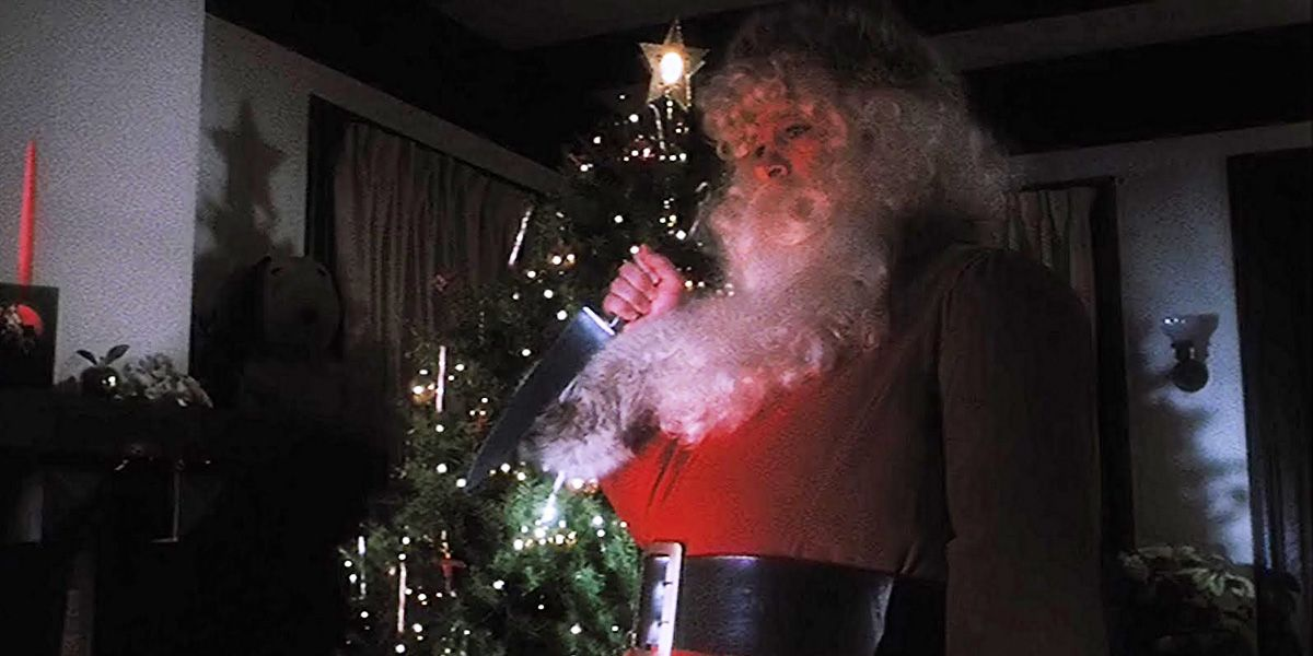 The Taxi driver of Christmas horror movies... Christmas Evil.