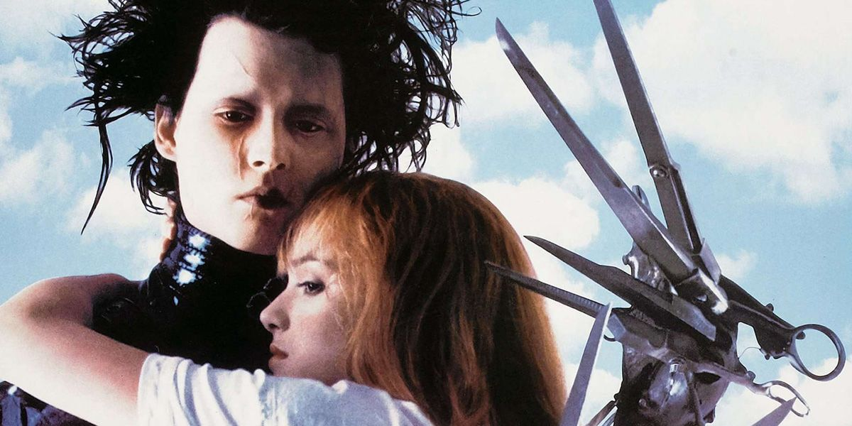 Tim Burton's twisted festive tale., Edward Scissorhands.