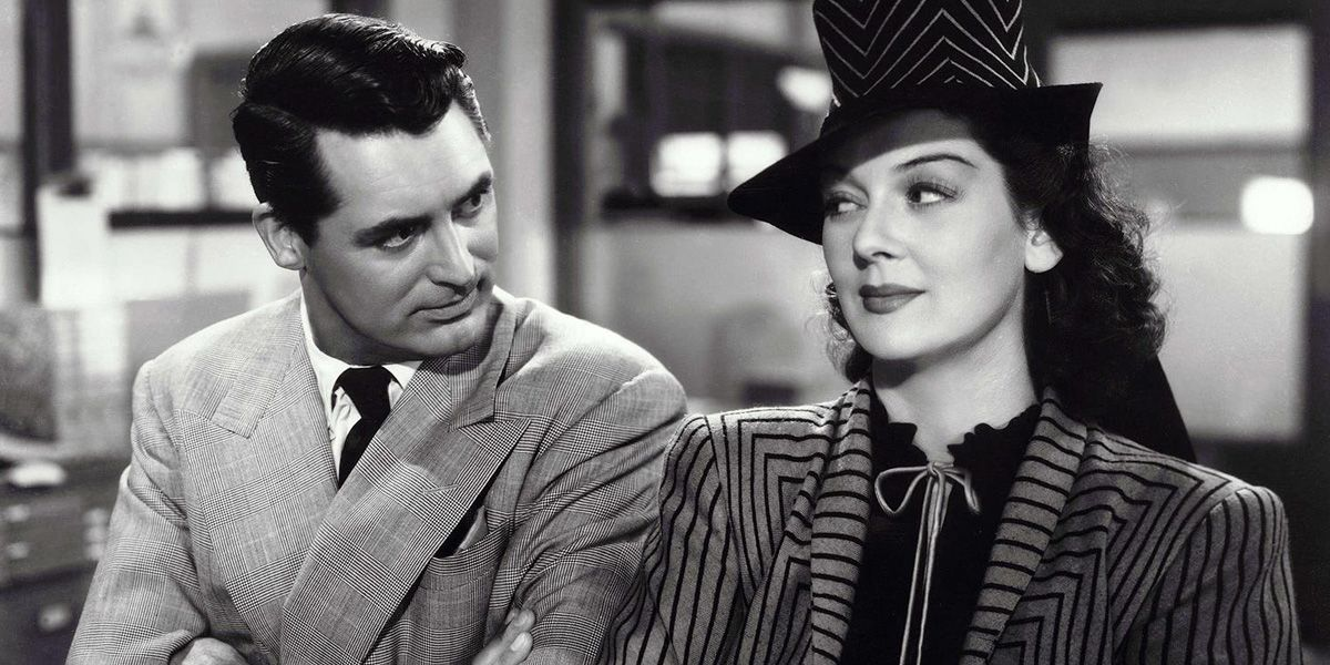 Classic comedy film His Girl Friday.