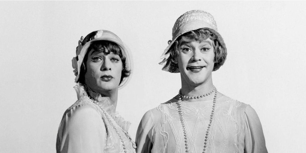 Comedic classic Some Like it Hot.