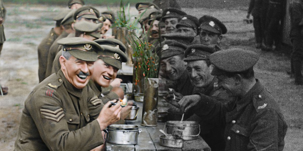 WWI documentary They Shall Not Grow Old.