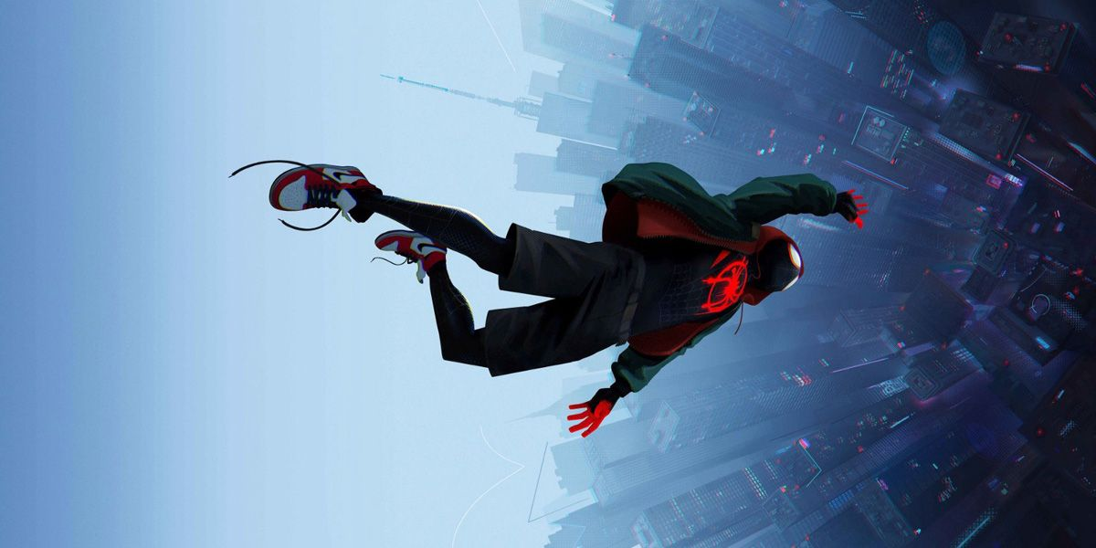 Animated adventure Into the Spider-verse.