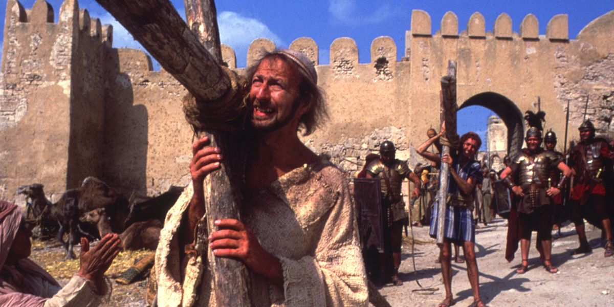 Graham Chapman in the Life of Brian
